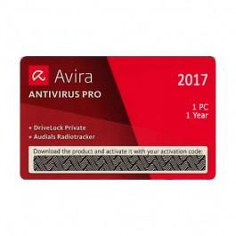 AVIRA ANTIVlRUS  ScratchCard,  1PC/1VIT