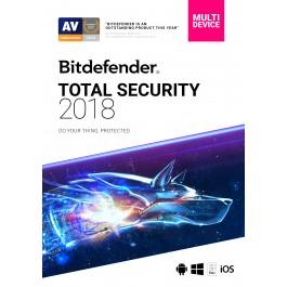 Bitdefender Total Security 10 Device 1 Vit