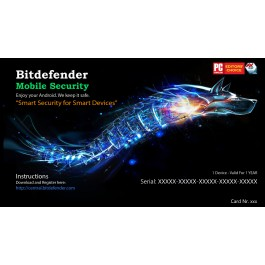Bitdefender Mobile SECURlTY Android, 1 Liçensë/ 1 Vit