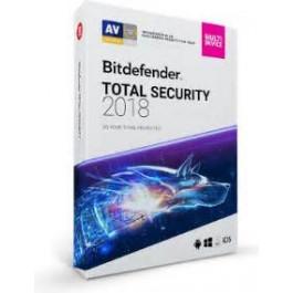 Bitdefender Total Security 2018 5 Devices 1 Vit