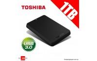 External Toshiba 2.5 HDD 1 TB ,Canvio Basics Model : HDTB310EK3AA , USB 2.0 & 3.0 ,USB Power ,Windows 7 / 8 / 8.1 ,