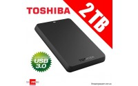 External Toshiba 2.5 HDD 2 TB , Canvio Basics Model : HDTB320EK3CA ,USB 2.0 & 3.0 ,USB Power ,Windows 7 / 8 / 8.1 ,