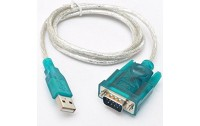 Adapotor USB to Serial USB 2.0 to RS232 Serial DB9 9Pin Adapter Cable FTA GPS