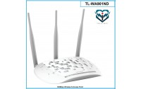 Wireless N Access Point ,Model TP-LINK ,TL-WA901ND , Up to 300 Mbps ,3 antena  3 x 5dBi ,te cmontueshme