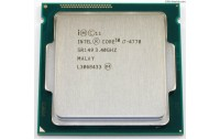 CPU Core i7-4770 3.4 GHZ , LGA1150 , 8 MB cache ,4 berthama ,Max Turbo Frequency : 3.9 Ghz