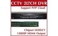 Analog  DVR 32 kanale  H.264 Digital Video Recorder