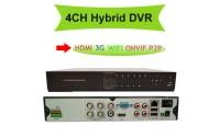 HD-DVR  4CH  2MP REC 1080P