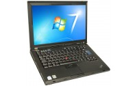 Laptop IBM Lenovo T61 Core 2 Duo 1.8Ghz, Ram 2Gb, Hdd 200Gb, 15.4 inch