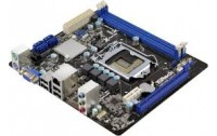 Motherboard Asrock LG 1155 Model : H61M-VG3, Supports 3rd and 2nd Generation