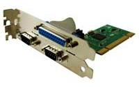 Adapotor PCI to COM Port & PCI to Paralel Port card