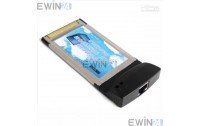 Lan Card per Laptop 10/100Mbps PCMCIA RJ45 Ethernet Network L