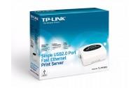 Print Server TPLink Model TL-PS11OU Single USB 2.0 Port Fast Ethernet Server