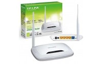 Wireless N Router TP-LINK ,Model TL-WR740N 150 Mpps ,1 WAN Port , 4 LAN Ports ,1 Fixed Antenna 5dBi