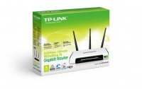 Wireless N Router LD-LINK ,Model : BL-WR3000 , 300 Mbps , 3 Antena 5 dbi , 1 WAN Port , 4 LAN Port